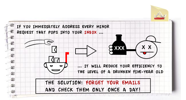 Inbox v1 cats1 Are you a slave to your inbox?