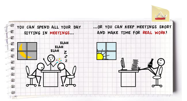 Meetings v1 cats Meetings – Avoiding the biggest waste of work time since Minesweeper